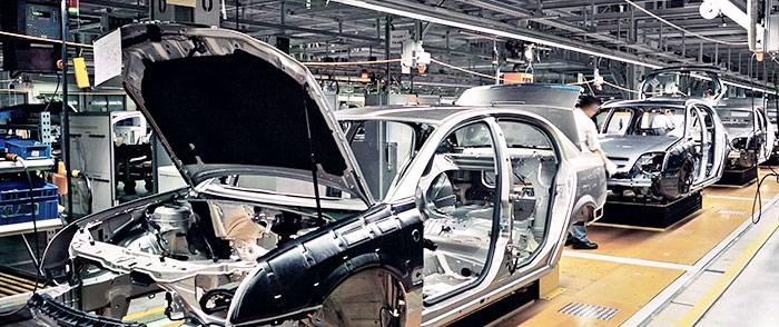 Automobilindustrie Holzindustrie
