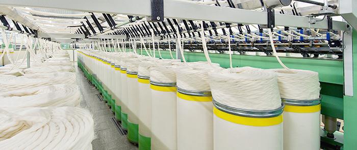 Textilindustrie Stahlindustrie